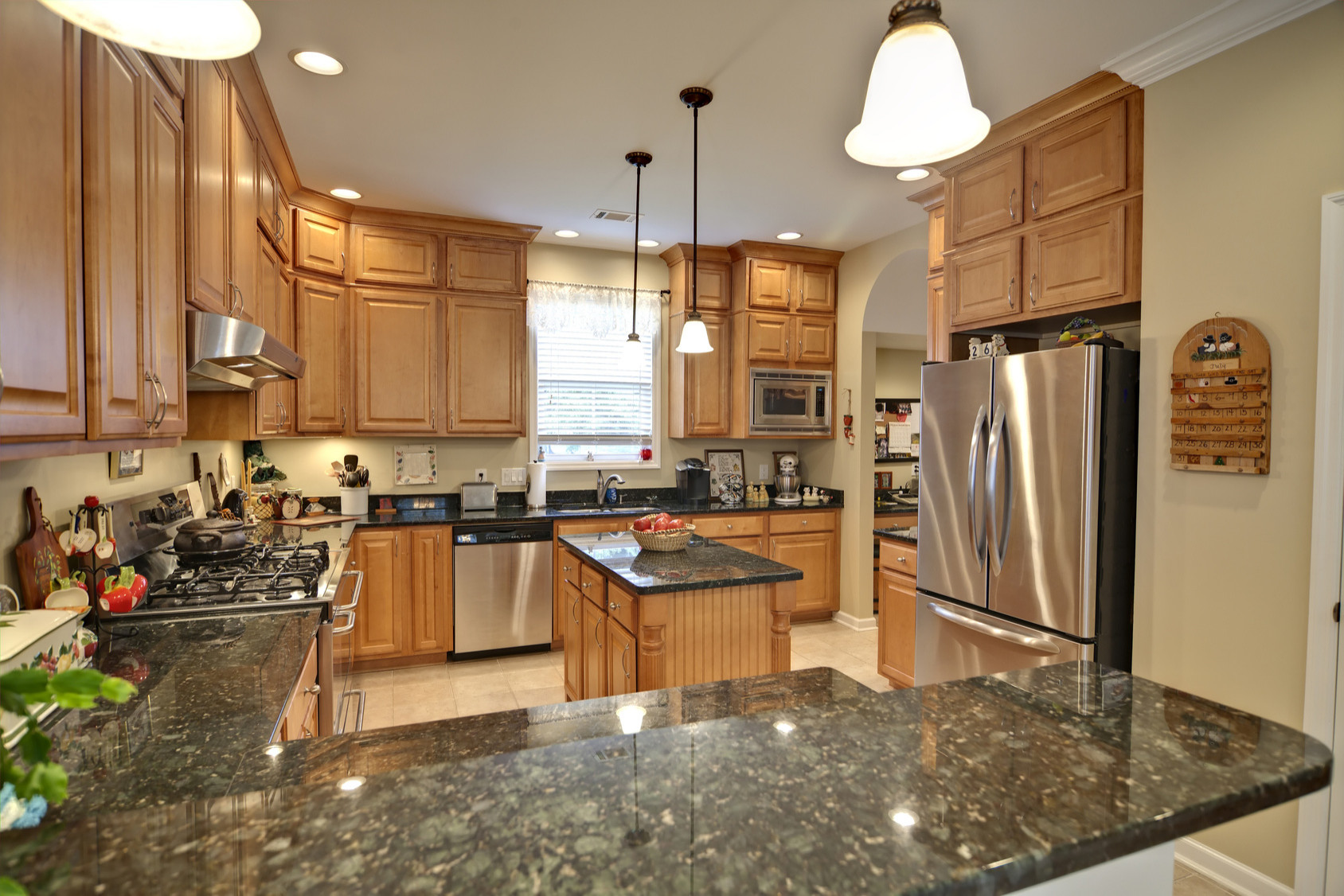 Green Granite Countertop Houzz
