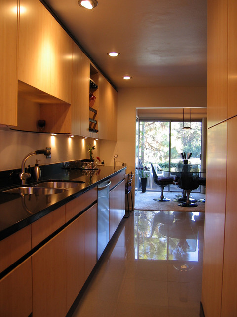 Green, Contemporary, Bamboo Kitchen Remodel contemporary-kitchen