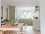 scandinavian-kitchen A Designer Opens Up the Living Area in a Compact English Home Upholstery in london