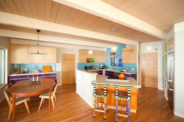 Green Goods eclectic-kitchen