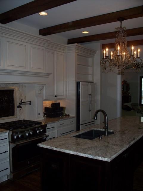 Green Hills/ Belmont Kitchen in progress traditional-kitchen