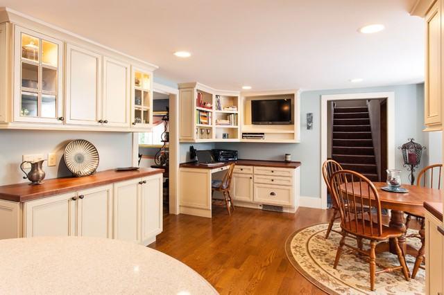 Green is As Traditional As You Feel traditional-kitchen