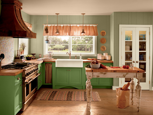color palette for kitchen behr 174 rustic kitchen by behr 174 5550