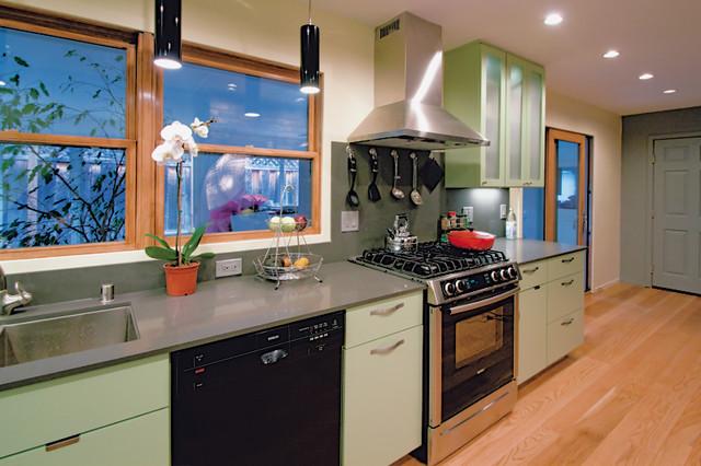 Green Kitchen eclectic-kitchen