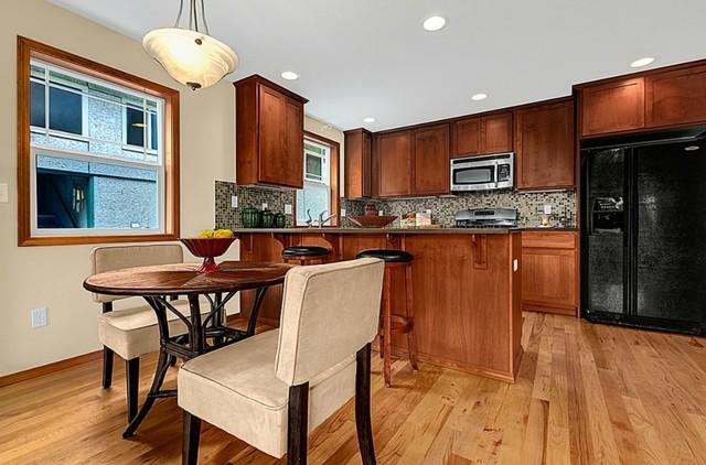 Green Lake/Wallingford Townhouse contemporary-kitchen