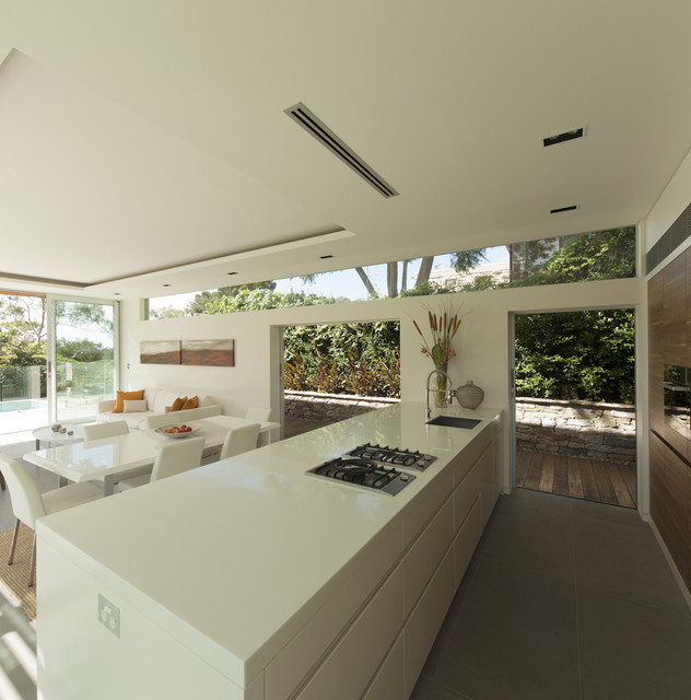 Castlecrag House, Sydney, Australia - Modern - Kitchen - sydney - by Rudolfsson Alliker ...