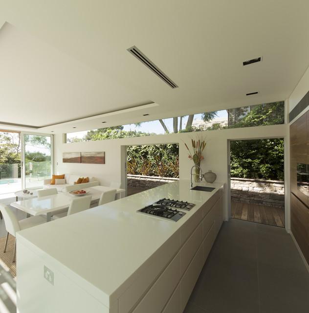 Castlecrag house sydney australia modern kitchen for Modern kitchen vent