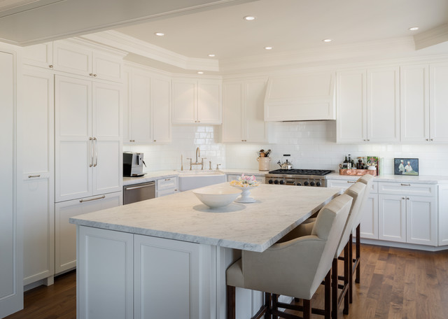 Classic High-rise Apartment - Cow Hollow traditional-kitchen