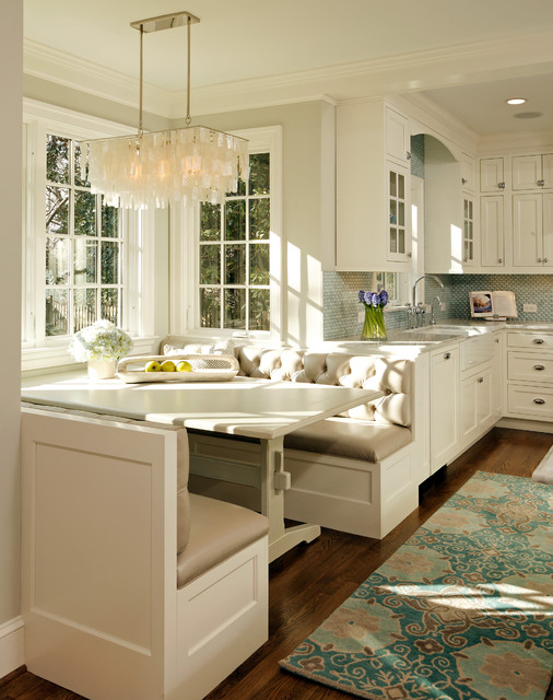 GREEN with Envy: LEED Certified Whole House Renovation traditional-kitchen