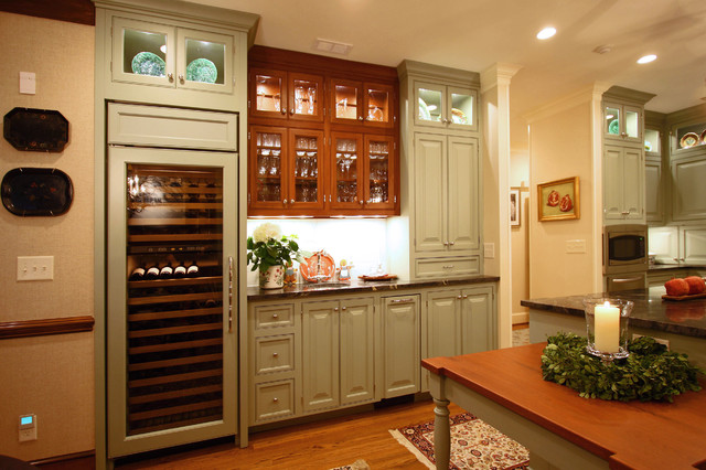 Green with Envy traditional-kitchen
