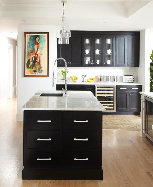 Greenbrae, CA contemporary-kitchen