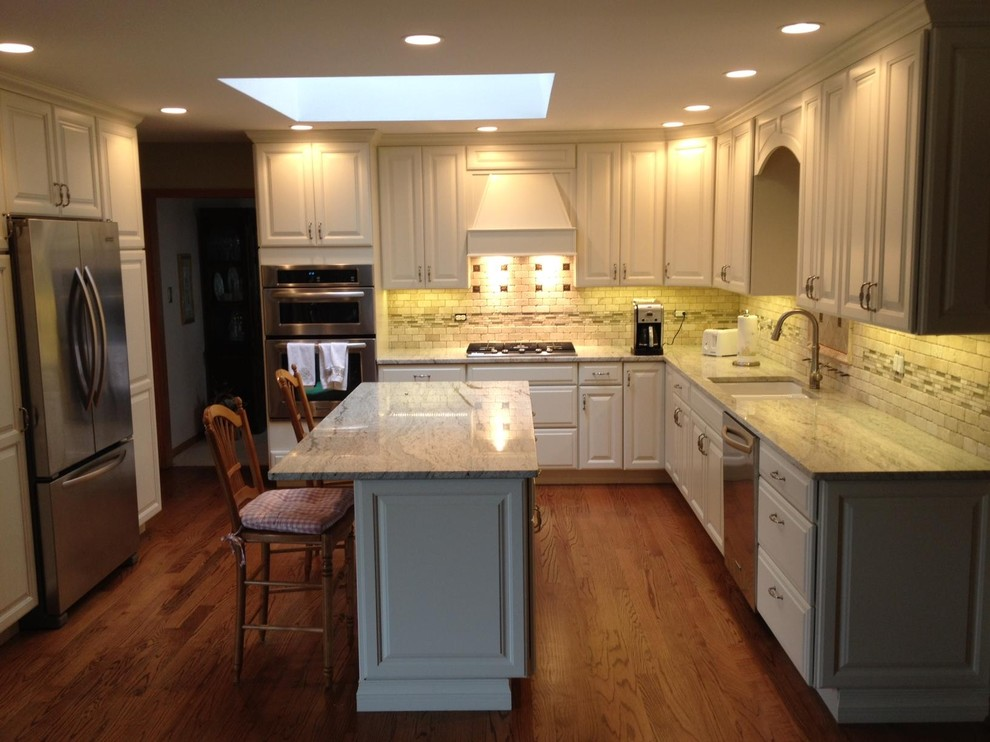 Greenfield Drive Orland Park Il Traditional Kitchen Chicago By Cabinets 4u Inc