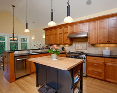 Greenlake Custom Home traditional kitchen