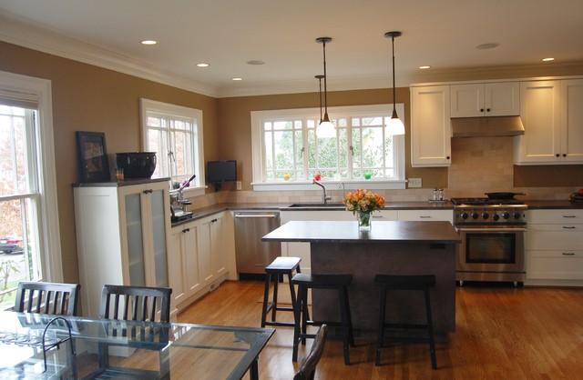 Greenlake Home B traditional-kitchen