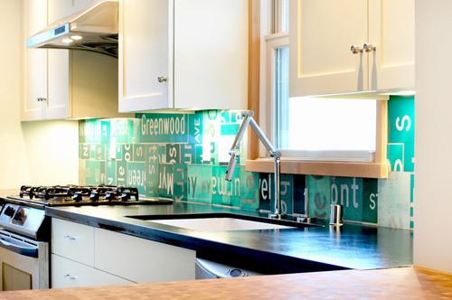 Unique Backsplash Ideas for a Kitchen or Wet Bar