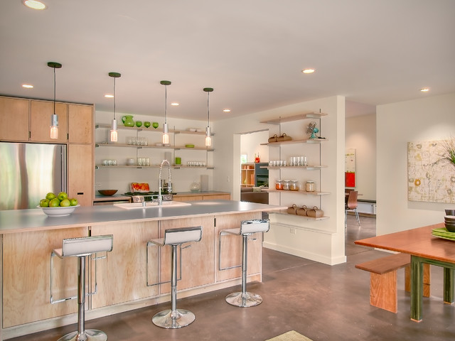 The Orchard modern kitchen