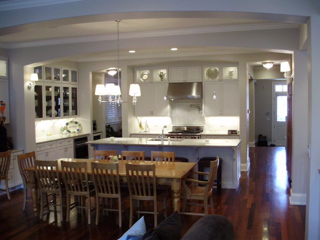 Greenview Private Residence traditional kitchen