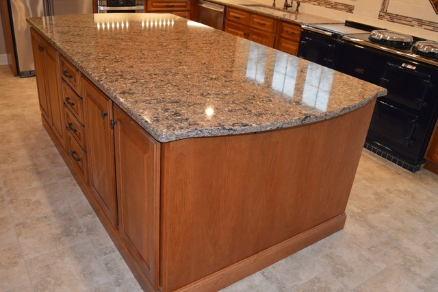 Greenville Hickory Kitchen Remodel - Traditional - Kitchen ...