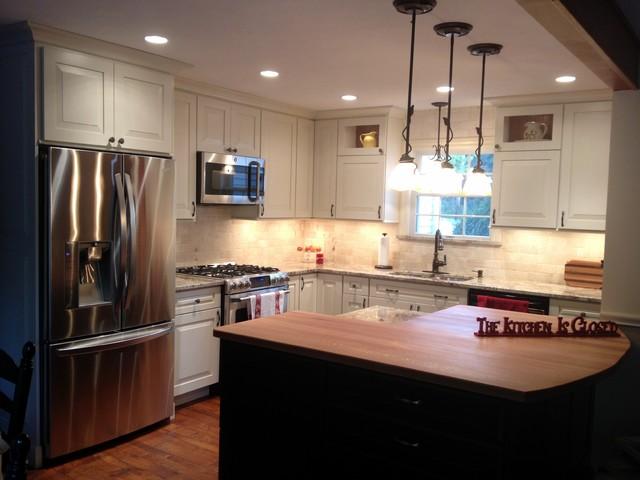Greenville Kitchen Remodel traditional-kitchen