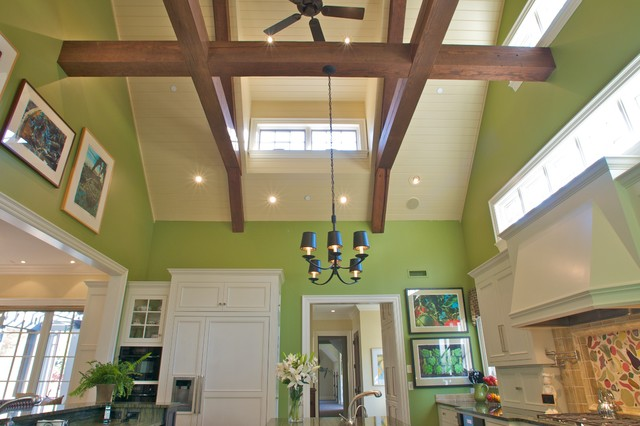 Greenville Luxury Custom Home traditional-kitchen