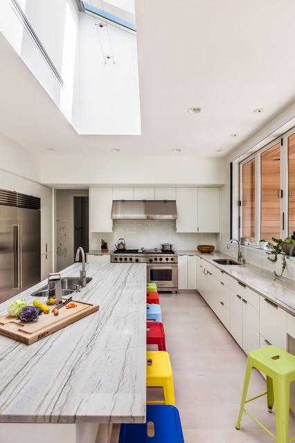 Greenville Modern Residence Contemporary Kitchen