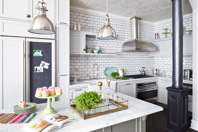 Greenwich Ave Residence Traditional Kitchen New York