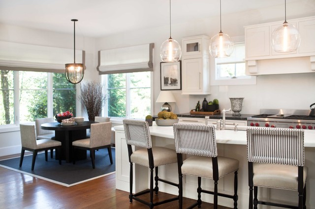 ... CT Home - Transitional - Kitchen - New York - by Roughan Interior