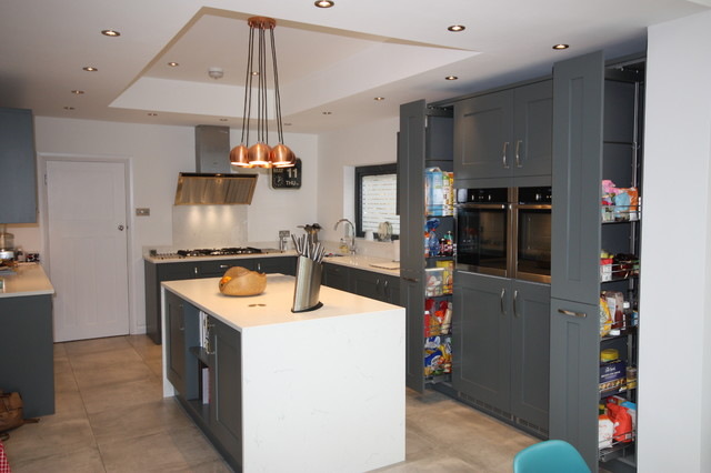 Greenwich Designed Fitted Ream Kitchen Contemporary Kitchen Londo
