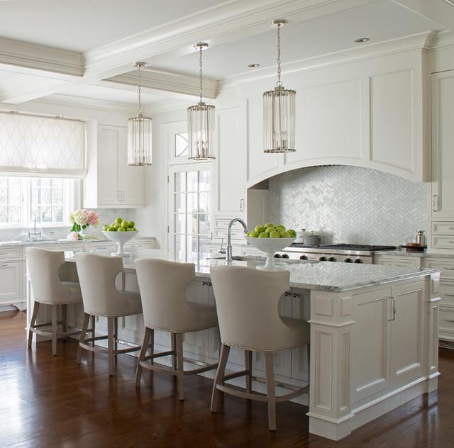 Interior Design Traditional Kitchen: Greenwich Shingle Style