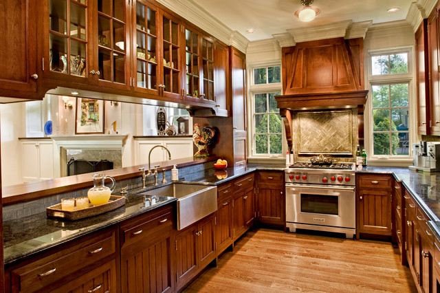 Greenwich Shingle Style Victorian Kitchen Bridgeport By Mockler Taylor Architects