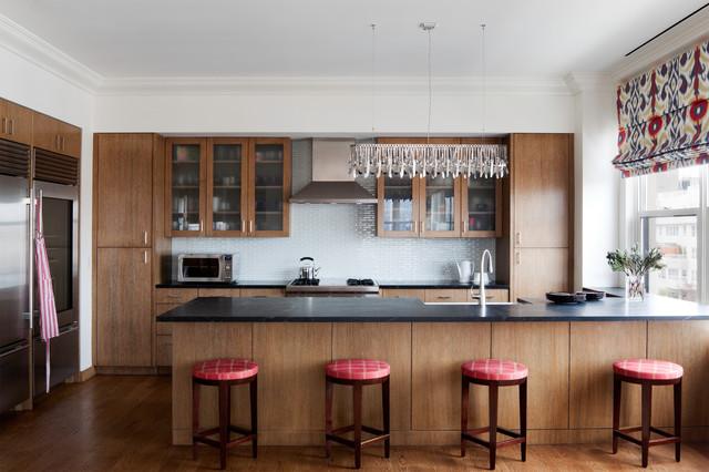 Greenwich Village Apartment Contemporary Kitchen New