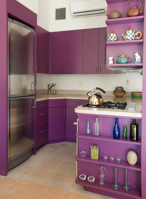 Greenwich Village - Morton St contemporary-kitchen