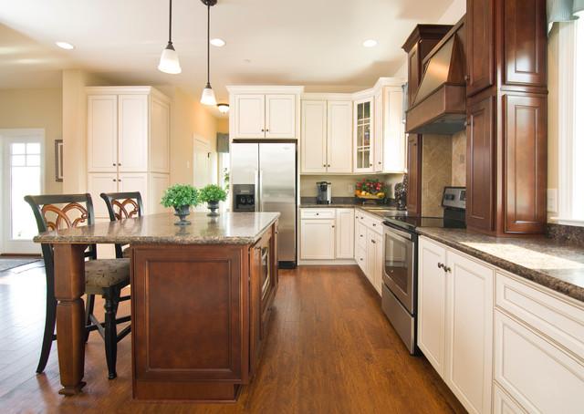 Greenwood craftsman model kitchen beracah homes for House kitchen model