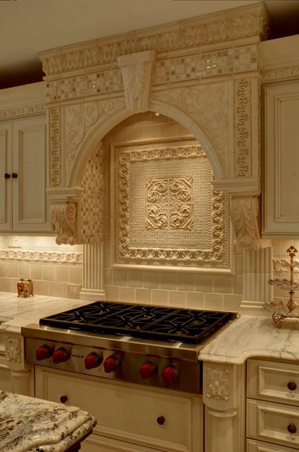 Greenwood village remodel traditional kitchen denver for Custom kitchen backsplash designs