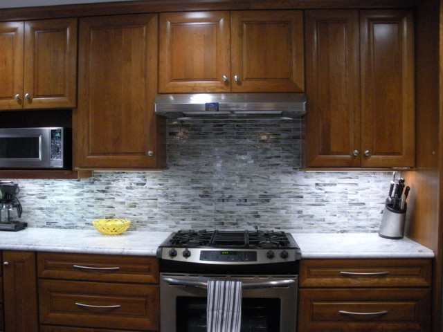 Grey Backsplash