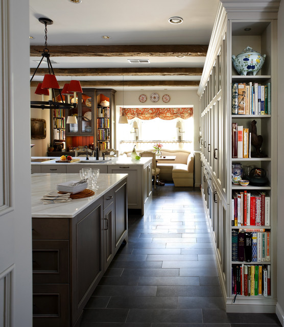 Country Gray Kitchen Cabinets