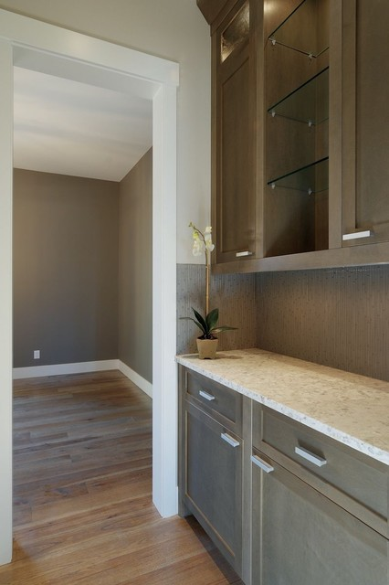 Grey Stained Kitchen contemporary kitchen calgary 874