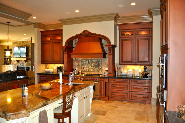 Greystone Crest - Private Residence - Lot 27 traditional-kitchen