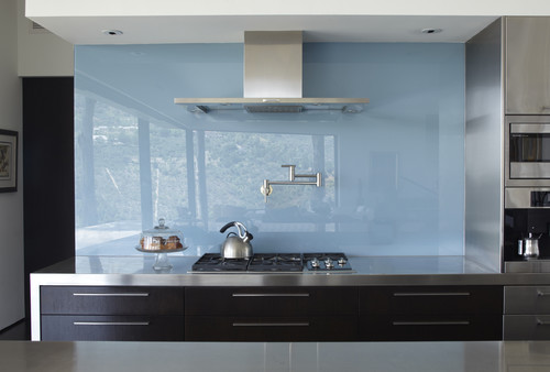 glass kitchen backsplash designs