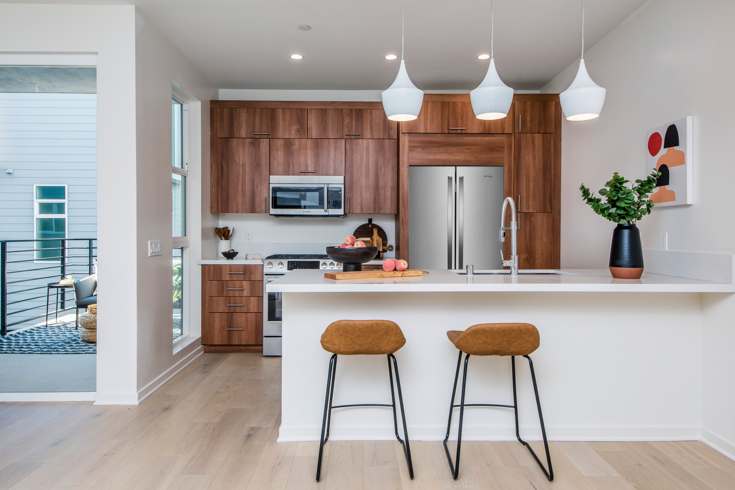 75 Beautiful Kitchen With Dark Wood Cabinets Pictures Ideas February 2021 Houzz