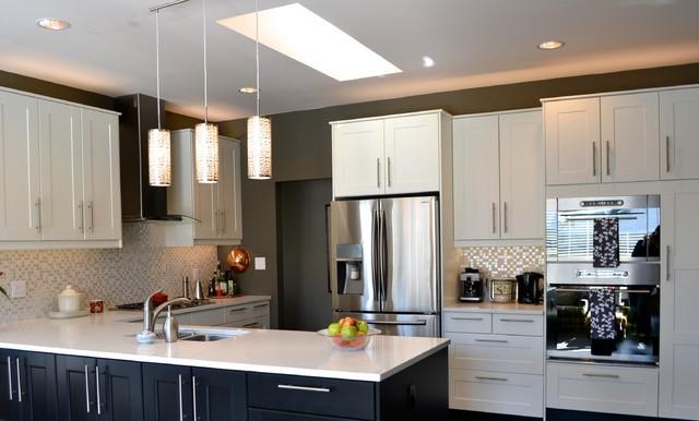 Grimslov (IKEA) white and grey kitchens contemporary-kitchen