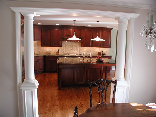 Grosse Pointe Park, MI - A dramatic change - Traditional - Kitchen - detroit - by Woodmaster ...