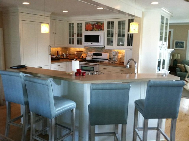 Groton Beach House Traditional Kitchen Other Metro By Ridgewood Designs