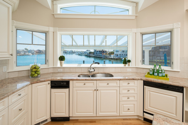 Groton Long Point Ct Waterfront Luxury Home Transitional Kitchen New York By