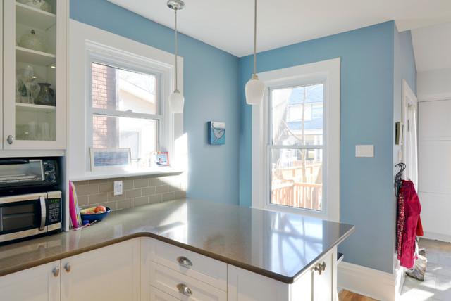 Grove House Renovation Project - Contemporary - Kitchen - ottawa - by Sandy Hill Construction Ltd.
