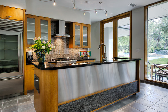 Guest House - Addition eclectic-kitchen