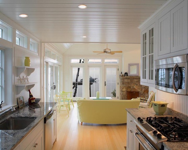 Guest house traditional kitchen portland maine by gulfshore design - Kitchen design portland maine ...