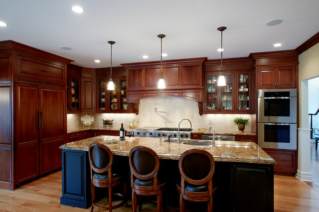 Guilford Ct Residence Traditional Kitchen New York By Grande Interiors