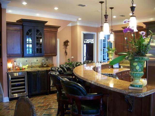Gulf Breeze custom kitchen traditional-kitchen