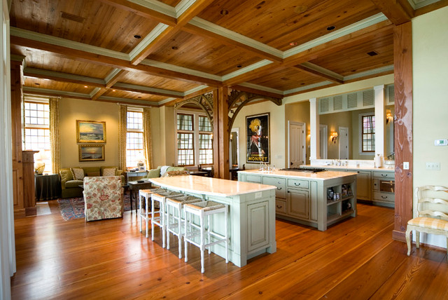 Gulf Coast Residence eclectic-kitchen